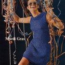 Spinnerin Mardi Gras Dresses Patterns - 6 to Knit, 2 to Crochet - Volume 194