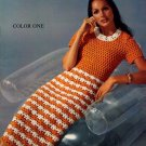 Spinnerin Color One Dresses Patterns - 8 to Knit, 2 to Crochet - Volume 207