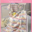 Cuddle-Up for Babies and Toddlers - 6 to knit, 4 to crochet patterns - Bernat Book No 675