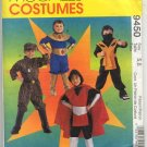 Children's and Boys' Hero Costumes Pattern McCall's 9450 Size 5,6 Uncut