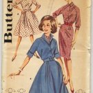 Butterick Pattern 9941 Misses' Raglan Sleeved Dress Pattern Size 14 Bust 34 - Uncut