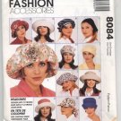 McCall's Fashion Accessories 8084 Misses' Hat in Three Sizes and Scarf - Uncut