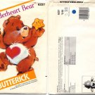 Tenderheart Bear Butterick Sewing Pattern 6227 - Uncut