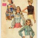 Simplicity 8594 Misses' Blouse Pattern Size 14 Bust 36 - Uncut