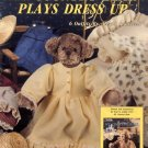 My Country Bear Plays Dress Up by Alexia Roosevelt Leisure Arts Leaflet 1232