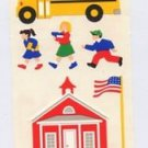 Mrs Grossmans School House Stickers #9B Priamary Colors