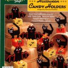 Plastic Canvas Halloween Candy Holders Pattern The Needlecraft Shop