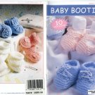 Baby Booties - Crochet & Knit, Leisure Arts Little Books 75019