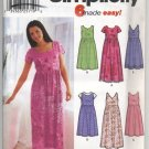 Simplicity 7170 Misses&#39; Dress or Jumper in Two Lengths Pattern - Size KK 8-14 - Uncut