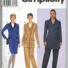 Simplicity 8795 Misses' / Miss Petite Jacket, Skirt and Pants Pattern - Size HH 6-12 - Uncut