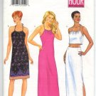 Butterick 6590 Two Hour Misses Petite Top, Dress & Skirt Pattern Size 6-8-10 Uncut