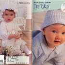 Tiny Tykes TLC Baby - Crochet & Knit Patterns - Coats & Clark - Art. J16, Book 0142