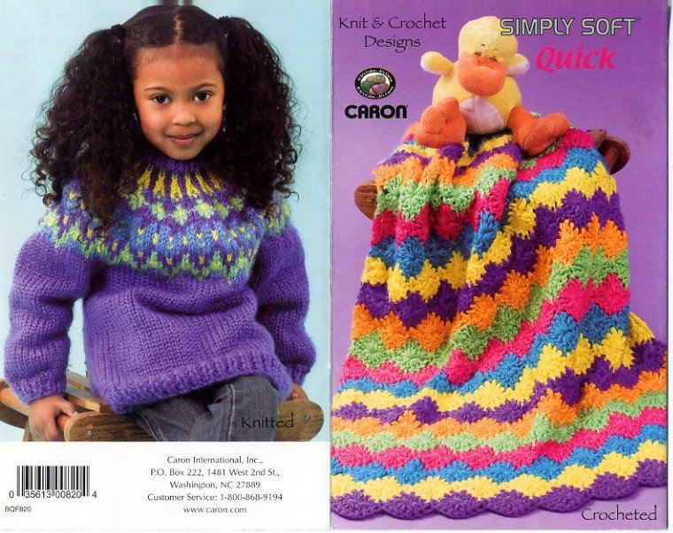 Amigurumi Caron Simply Soft : Crochet & Knit Designs - Simply Soft Quick Patterns ...
