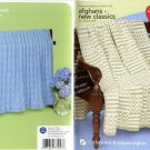 Red Heart Afghans - New Classics to Crochet & Knit - Coats & Clark   Art. J16 Book 0154