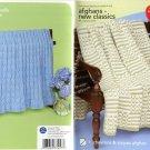 Red Heart Afghans - New Classics to Crochet & Knit - Coats & Clark   Art. J16 Book 0154