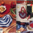 Red Heart Country Heart Favorites to Crochet - Coats & Clark   Art. J12 Book 348