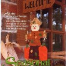 Seasonal Welcome Plastic Canvas The Needlecraft Shop Booklet 923334