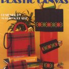 Totes and Accessories in Plastic Canvas - Leisure Arts Leaflet 345