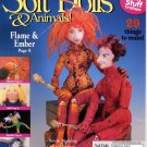Soft Dolls & Animals! March 2003 cloth doll & animal patterns, techniques, how-to magazine