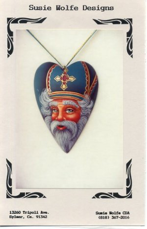 Susan Wolfe Designs St. Nicholas Necklace Pattern #105