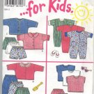 New Look ... for Kids Pattern 6397 Size NB, S, M, L Uncut