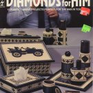 Diamonds For Him Plastic Canvas Projects - Hot Off the Press HOTP 191