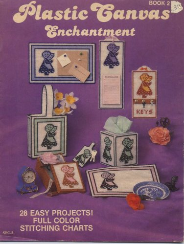 Plastic Canvas Enchantment Book 2 - 28 Projects - Sandy Crafts SPC-2