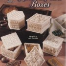 Plastic Canvas Ribbon & Pearls Boxes Patterns - Annie's Attic 871432
