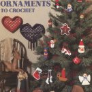 Christmas Ornaments to Crochet Leisure Arts Leaflet 512