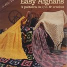 Easy Afghans - American School of Needlework 6006