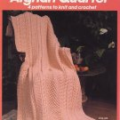 Afghan Quartet 4 patterns to Knit and Crochet - Bernat No 633