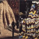 Afghan Magic with Fluffy Yarn - Crochet Patterns - Unger Vol. 239