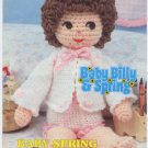Annie's Attic Baby Billy & Spring Baby Spring Crochet Pattern 87B21