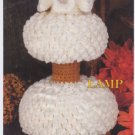 Annie's Attic Milk Glass Crochet Lamp Crochet Pattern 87Q01