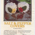 Annie's Attic Milk Glass Crochet II Salt & Pepper Covers Crochet Pattern 87Q24