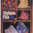 Annie's Attic Afghans Plus Crochet, Knit and Quilt Pattern 87S54