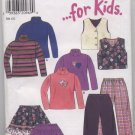 New Look ... for Kids Pattern 6711 Size 3 - 8 Uncut