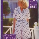 See & Sew NOW 5551 Shirt and Shorts Pattern Size A (XS - XL) Uncut