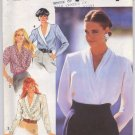 Simplicity 7453 Misses' Blouse with Collar and Sleeve Variations Pattern - Size H 6-10 - Uncut