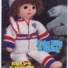 Annie's Attic Baby Billy & Spring Billy's Jumpsuit & Helmet Crochet Pattern 87B27