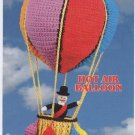 Annie's Attic Up, Up & Away Hot Air Balloon Crochet Pattern 87Y01
