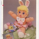 Annie's Attic Bunny Baby Crochet Pattern 87G21