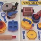 Annie's Attic Plastic Canvas Playtime Plate & Platter Patterns 87P24