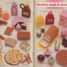 Annie's Attic Plastic Canvas Playtime Meals & Munchies Patterns 87T62