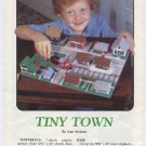 Plastic Canvas Tiny Town - Annies Attic 87P10 Pattern