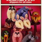Crocheted Animal Feet Slippers for all Sizes - Needleworks Book No. 125