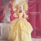 Crochet Collector Costume Vol 28 - 1790 English Aristocrat -  Crochet Book P-039