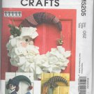 McCall's Crafts M5205 Sesonal Decorations Pattern - uncut