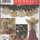 Simplicity Holiday Pattern 7938 - Angels, Wreath, Stocking, Treeskirt - uncut