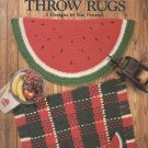 Quick Crochet Throw Rugs - Leisure Arts Leaflet 1090